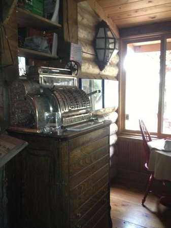 The Lodge At Red River Ranch: cash register