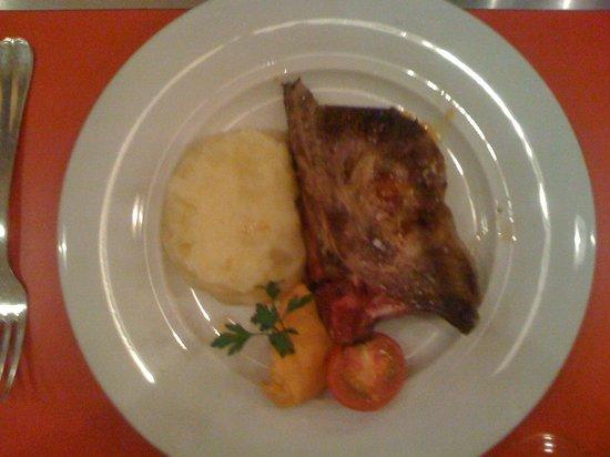 La Belle Equipe : côte de porc au chorizo