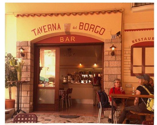 Taverna del Borgo: entrata