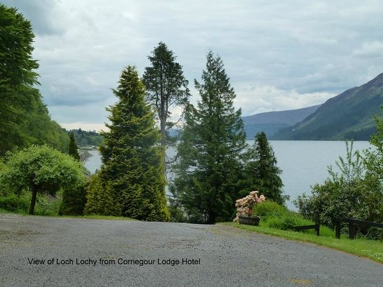 Corriegour Lodge Hotel: View from the hotel