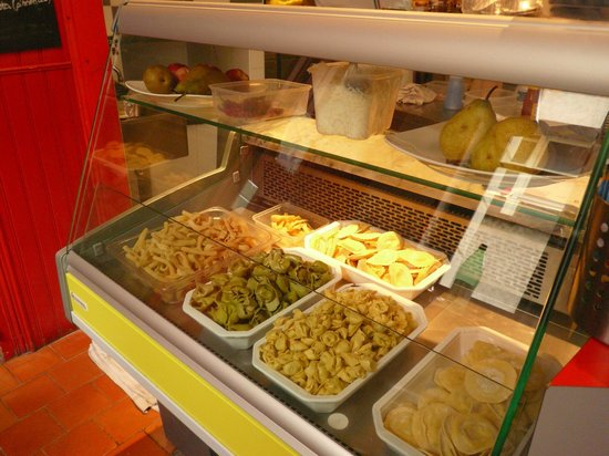 les saveurs d'italie : Pâtes fraîches réalisées par Fabio le chef italien