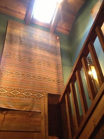 The Lodge At Red River Ranch: stairs to third level