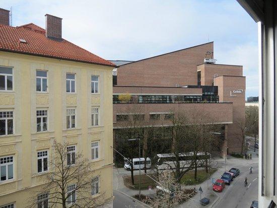 Hotel Preysing: Blick aus dem Fenster