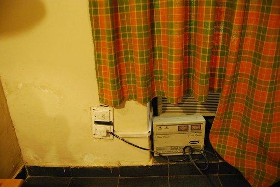 Grand Hotel : Dodgy electrics