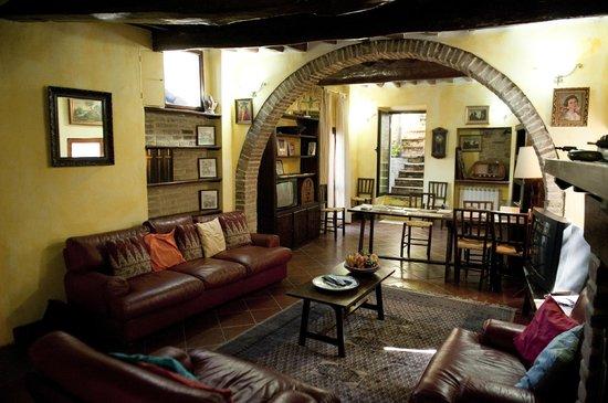 B&B Acquedotto: Livingroom