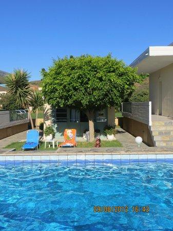 Cormoranos Apartments: ottimo punto di partenza per le più belle spiagge