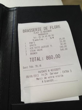 Brasserie de Flore Photo