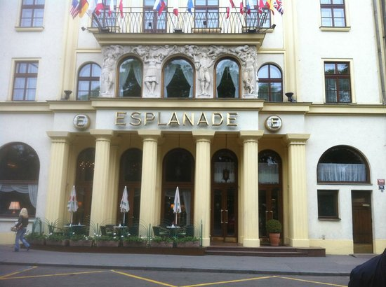 Hotel Esplanade Prague Review