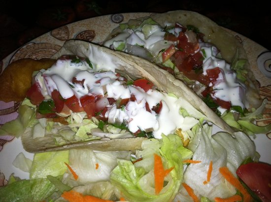 Charly's Place: Fish Tacos with Garlic Sauce