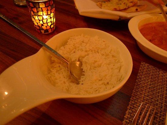 Tashan: Basmati steamed rice