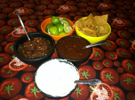 Charly's Place: Tasty Salsas