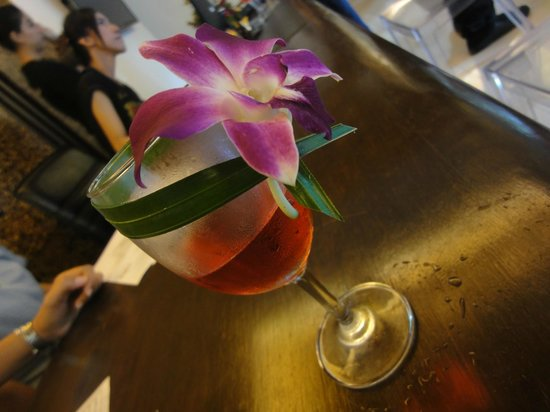 Aonang Princeville Resort : Our Welcome Drink