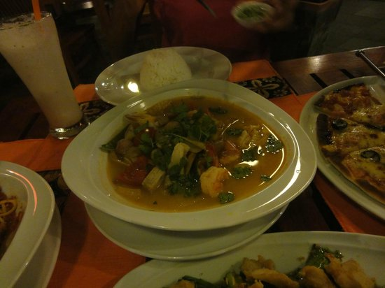 Aonang Princeville Resort: tom yam soup