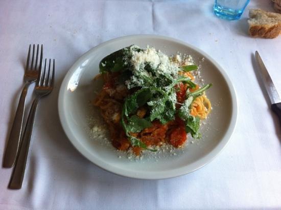 Spaghetti Sor Capanna - molto buoni !