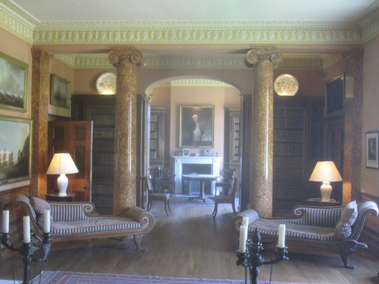Melford Hall: A room in the hall
