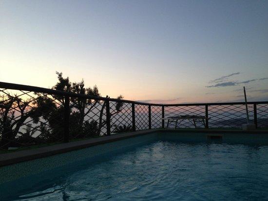 Sweet Poseidon: Zona piscina