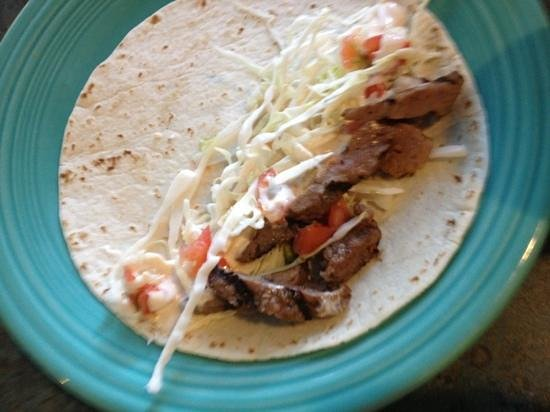 Joey's Seafood and Grill: silicon tacos