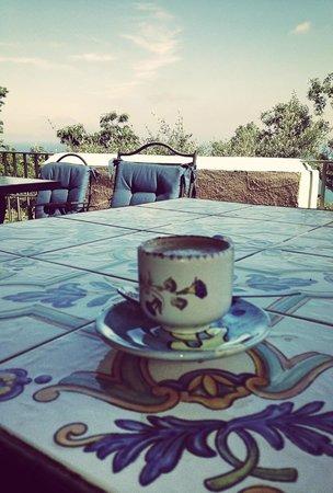 Sweet Poseidon : Colazione in terrazza