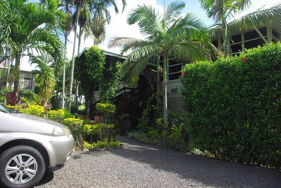 Samoan Outrigger Hotel: Arrivée à l'hôtel
