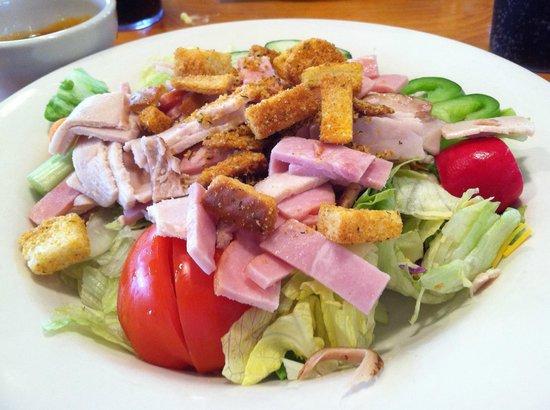 Chef salad at Timbers Restaurant, Winona, MN