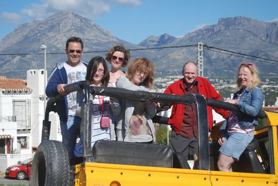 Marco Polo Expediciones - Day Tours: before we go off-roading