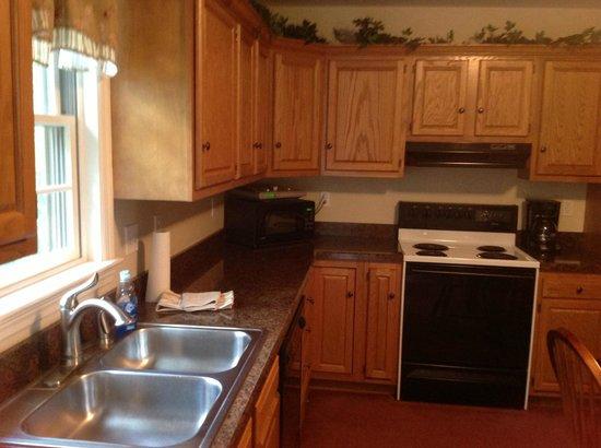 Rocky Acre Farm B&B: guesthouse kitchen