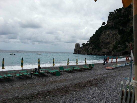 Spiaggia del Fornillo: la spiaggia di Fornillo