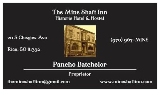 The Mine Shaft Inn Hotel & Hostel: Historic & haunted