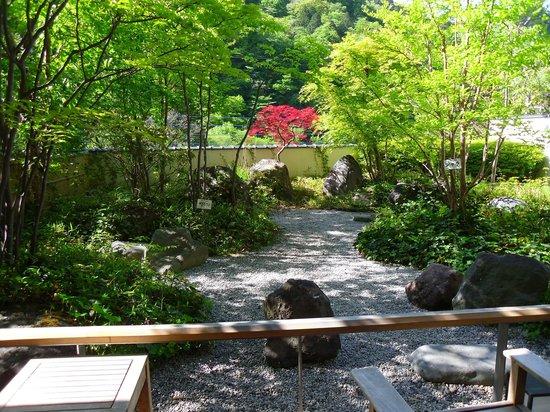 Nikko Senhime Monogatari: giardono dell'onsen