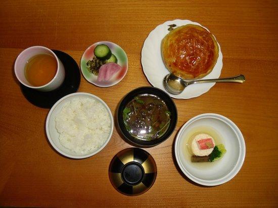 Nikko Senhime Monogatari: alcune specialità della cena