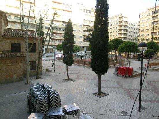 Hostal Albero: View to Plaza de las Carmelitas