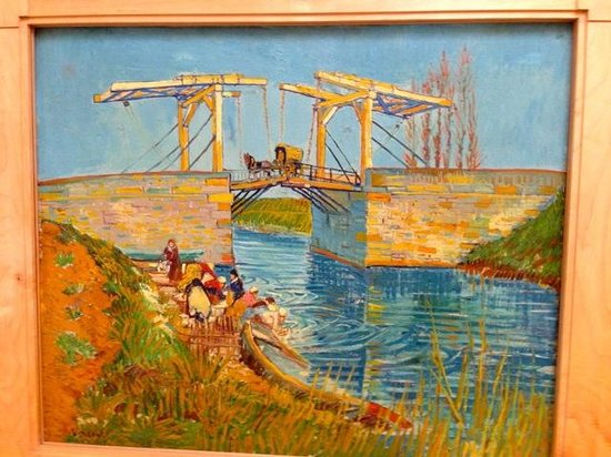 Kroller-Muller Museum: An early painting of Vincent inspired by Monet