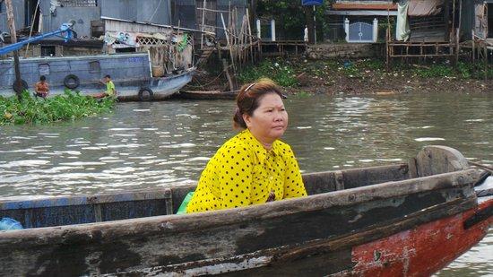 Nam Bo Boutique Hotel: Floating Market