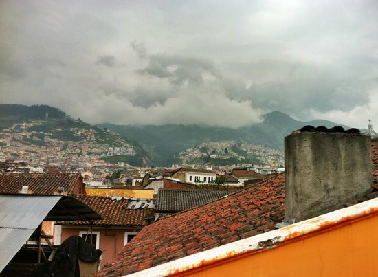 La Posada Colonial: Another view from rooftop terrace.