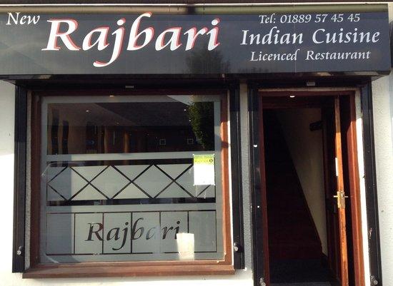 Rajbari Tandoori: Front view of Rajbari