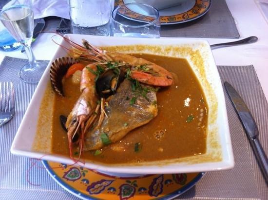 Les Saveurs de Provence : bouillabaisse 3 poissons
