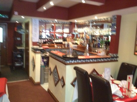 Rajbari Tandoori: Fully licensed bar at Rajbari