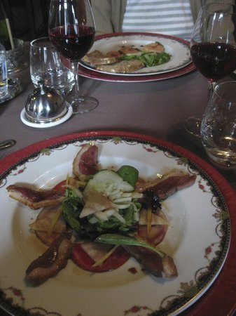 Logis La Breche: First course