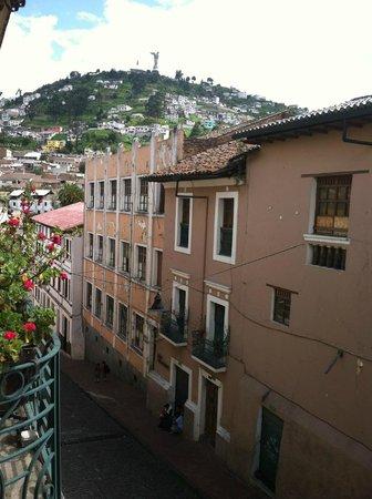 La Posada Colonial : View from second-floor room.