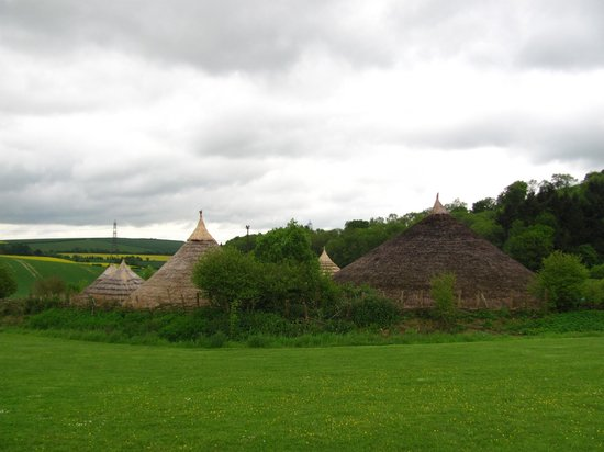 Butser Ancient Farm: Medieval village