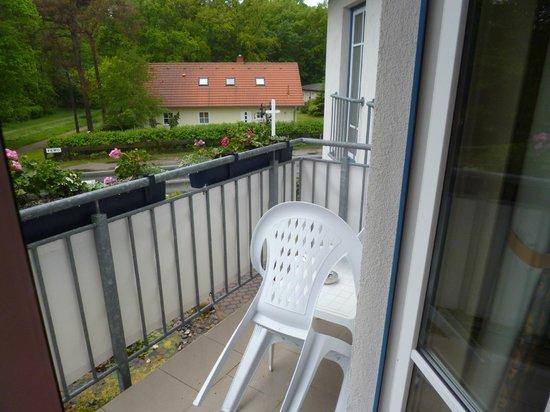Hotel-Restaurant Svantevit: Balkon