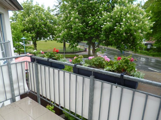 Hotel-Restaurant Svantevit: Aussicht Balkon