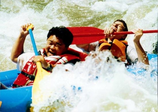 Rumsey, Califórnia: Get your picture taken on our Class III Rapids!