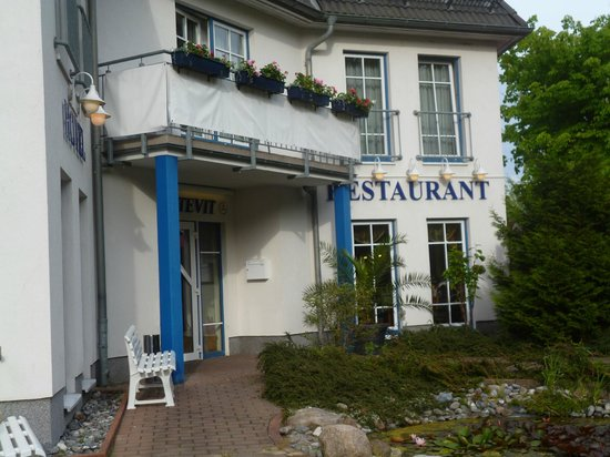 Hotel-Restaurant Svantevit: Hoteleingang