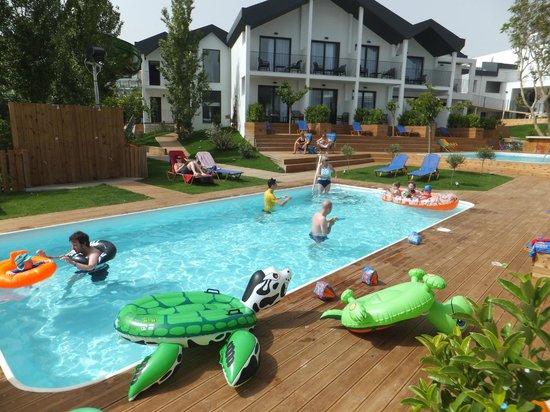 Aqua Bay Hotel: One of many small pools