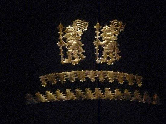 Sican Museum: Más adornos de oro