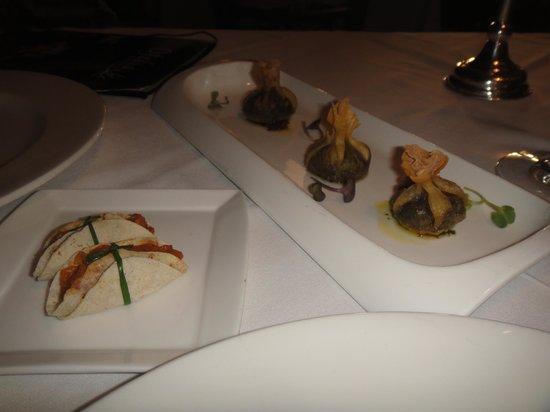 Ofelia Bistro: Wantones de escargots