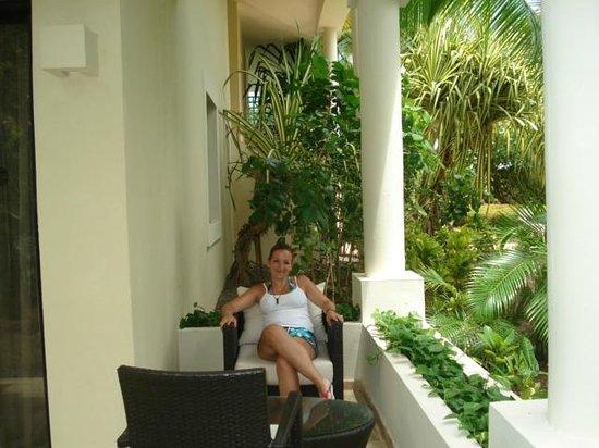 Paradisus Punta Cana Resort: Terracita de mi habitacion