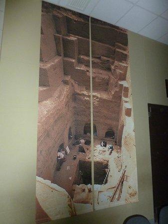 Sican Museum: Fotofrafía de una de las tumbas