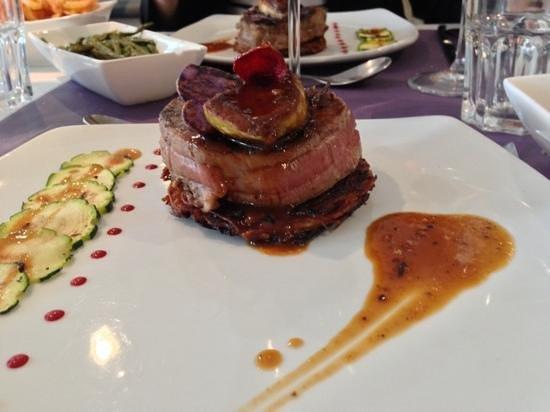 Restaurant Paris Tournedos Rossini
